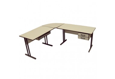 Mesa em L Eco
