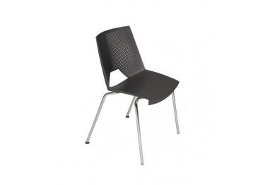 Cadeira Strika 4 Pés Cromada