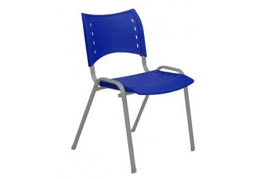 Cadeira Iso Plástica Fixa 4 pés