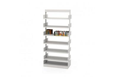 Estante para Biblioteca dupla sem base
