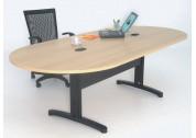 Mesa Reunião Oval Genius